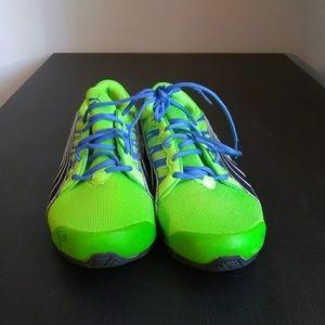 Men's 10.5 PUMA Lime Green Running Shoes